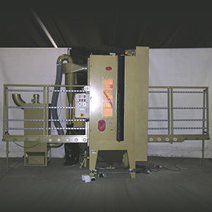 Automatic throughput unit type KASM