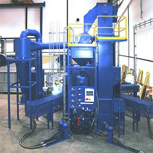 Blasting Unit For Hollow Bodies