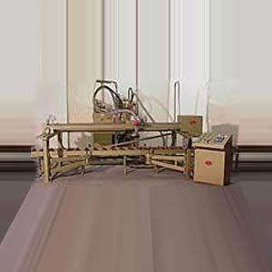 Brückenstrahlmaschine mit Druckstrahlblaster