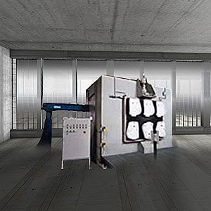 Robot sandblast unit 1