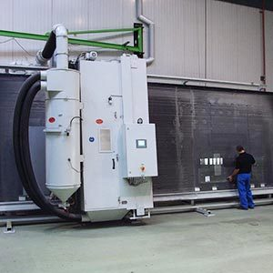 Blasting Unit For Standing Components